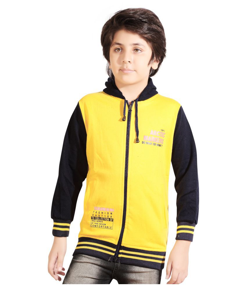 AD & AV  Full Sleeve Solid Boys Sweatshirt