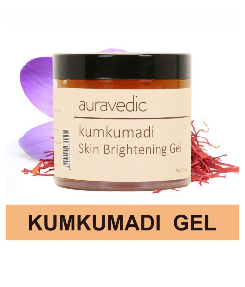 Auravedic Kumkumadi Brightening Gel 100g Moisturizer 100g gm