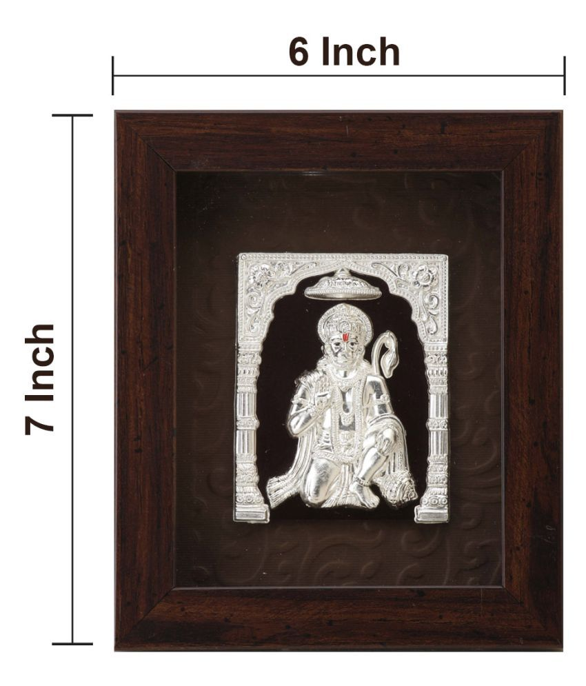 AARYA 24KT Acrylic Silver Single Photo Frame - Pack of 1