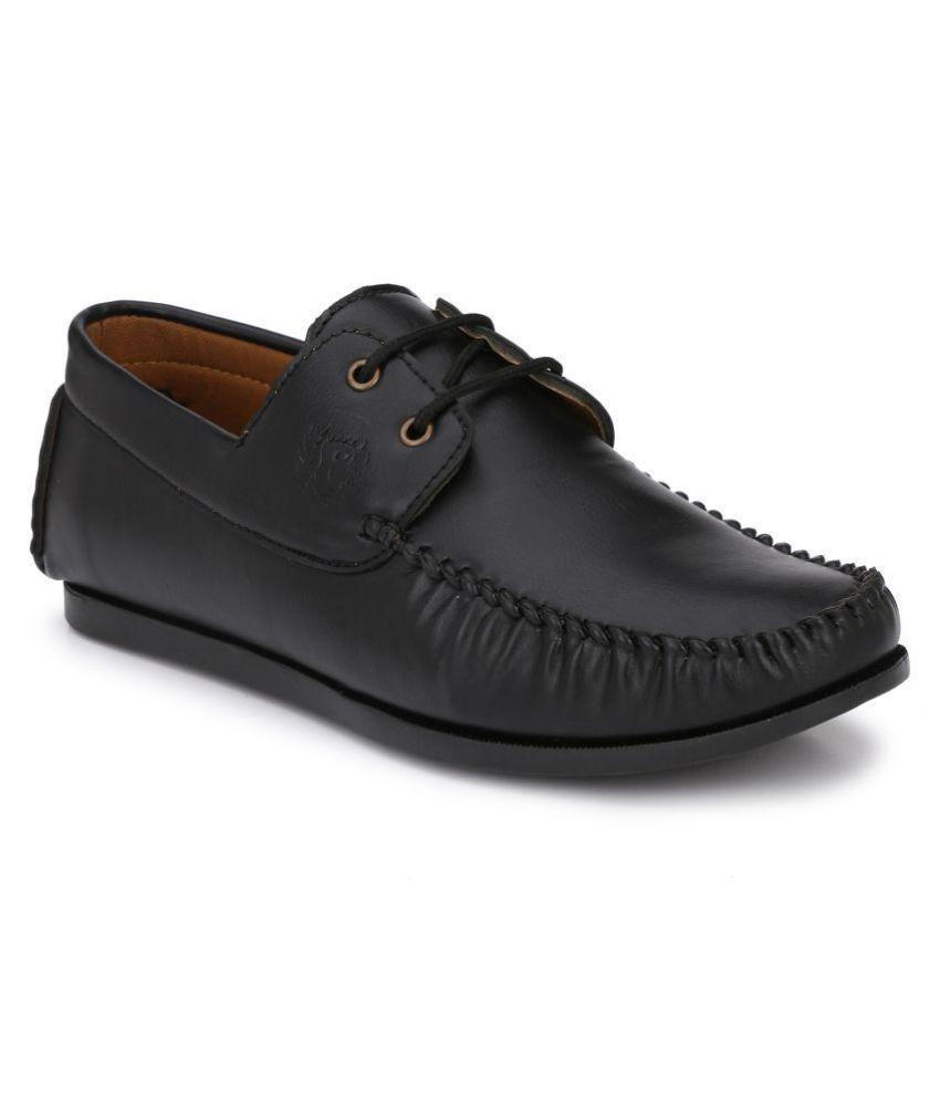 Prolific Derby Black Formal Shoes
