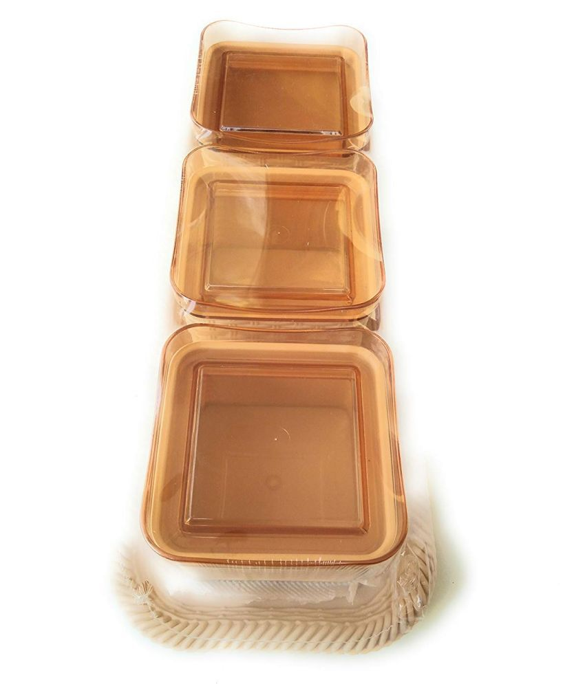 Nayasa PET Spice Container Set of 3 540 mL