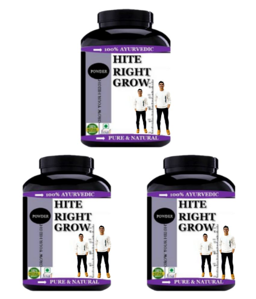 VITARA HEALTHCARE Hite Right Grow For height increase Powder 300 gm Pack of 3
