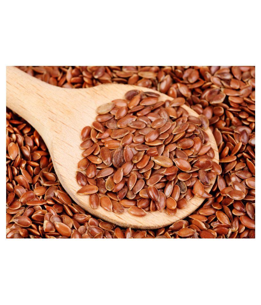 Desiilaaz ALSI SEEDS / LINSEED / FLAXSEED Raw Herbs 200 gm Pack Of 1