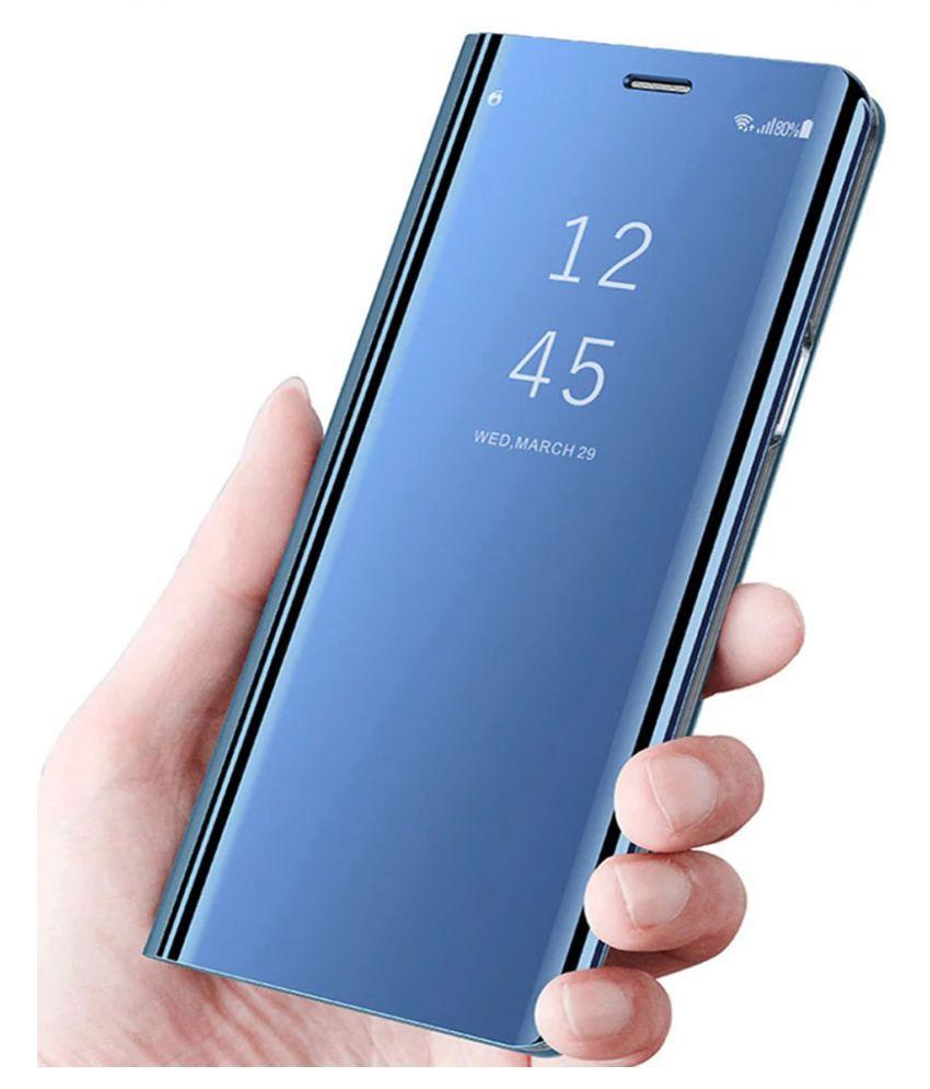 Xiaomi Mi A3 Flip Cover by SKYHOT - Blue