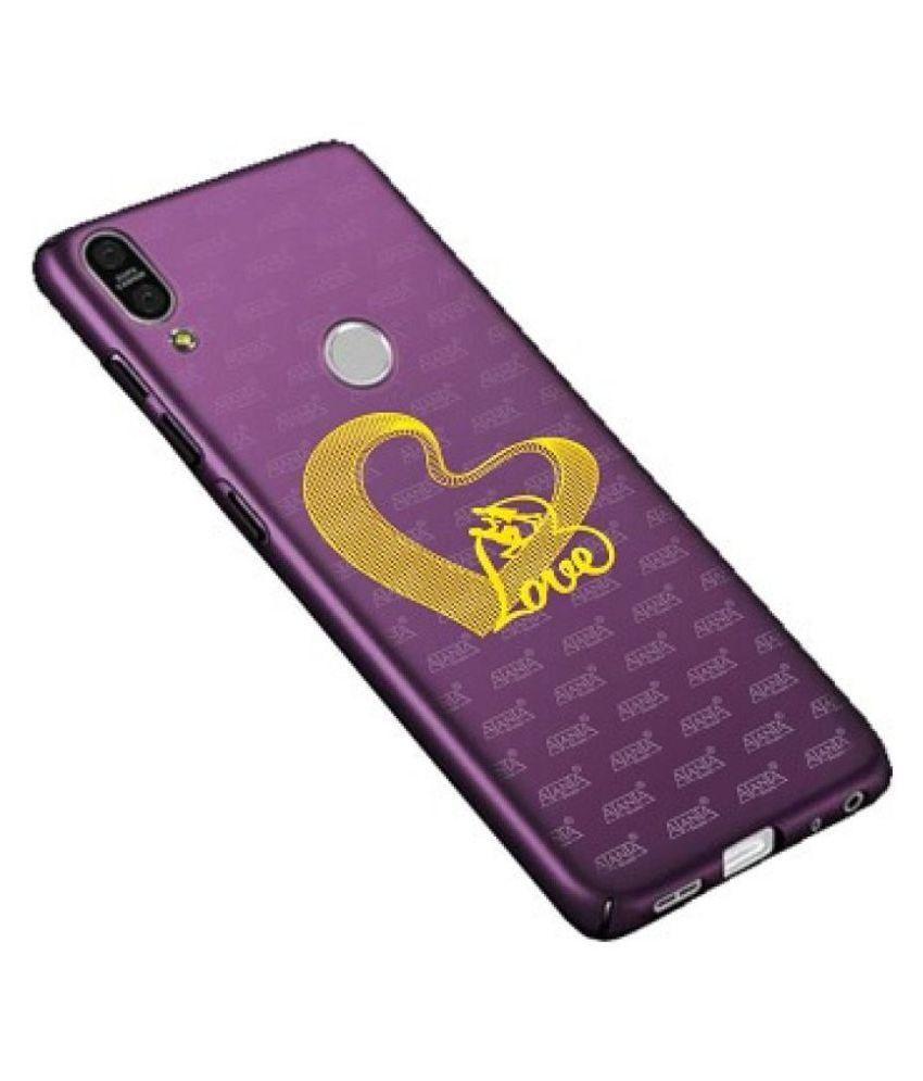 Ajanta Romantic Love Couple 4050 24K Gold Plating Mobile Sticker