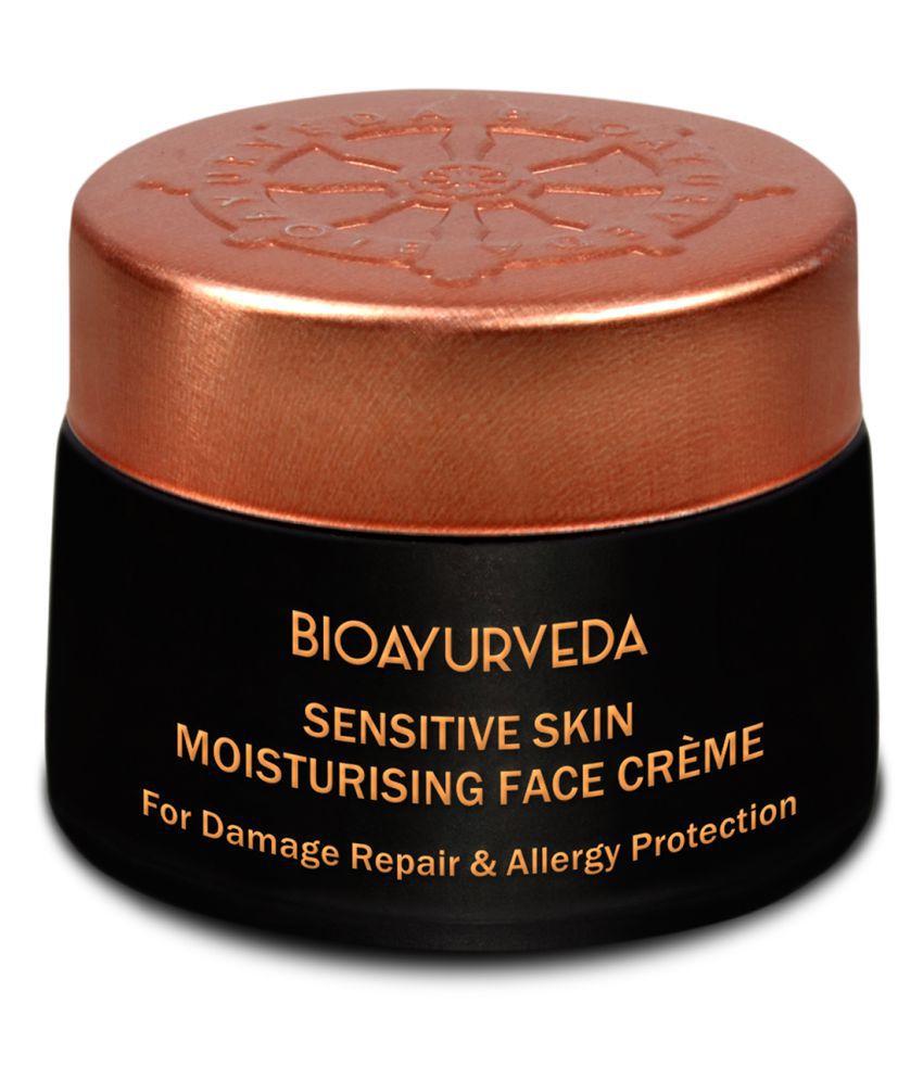 BioAyurveda Sensitive Skin Moisturising Face Cream  Moisturizer 40 gm
