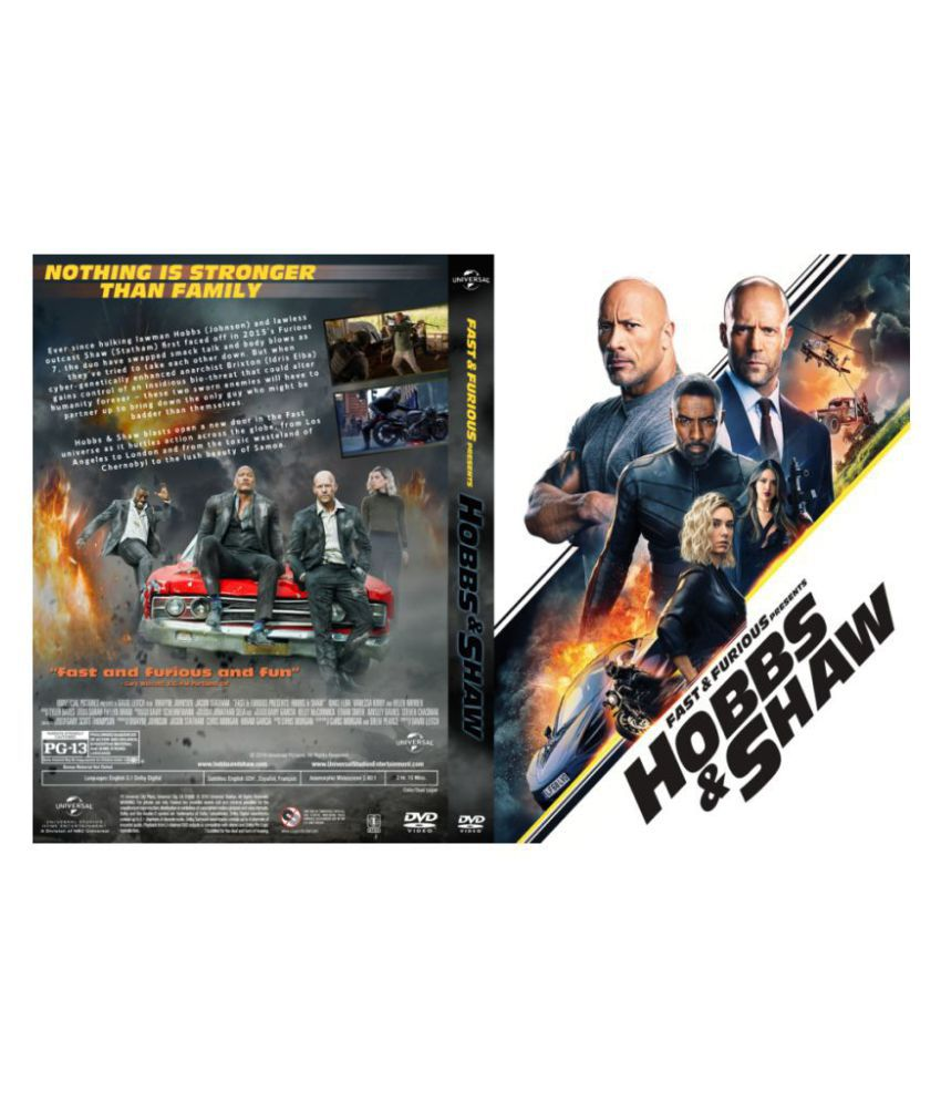 Fast & Furious Presents: Hobbs & Shaw ( Blu-ray )- English