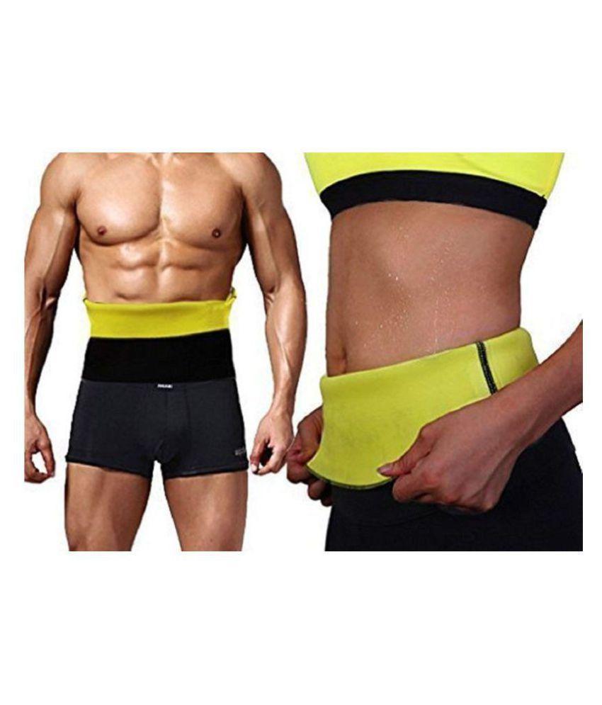 Hanuman Impex Home Gym Size_Medium Hot Shaper Belt Waist Trimmer Belt For Unisex