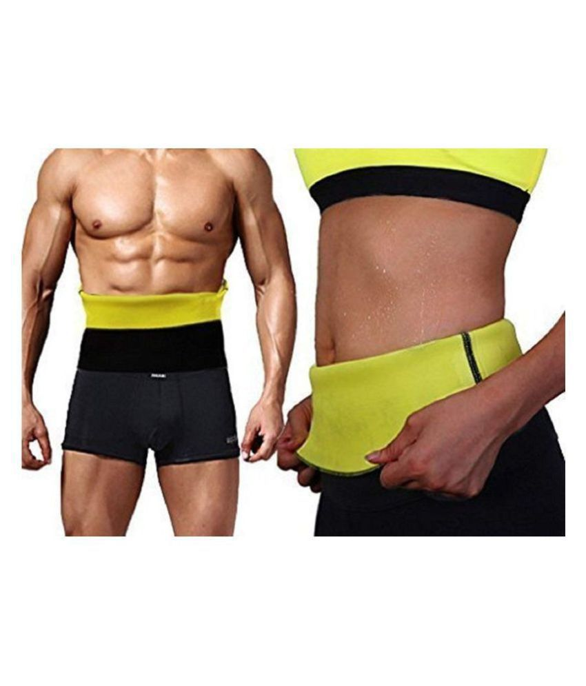 Hanuman Impex Home Gym Size_Large Hot Shaper Belt Waist Trimmer Belt For Unisex