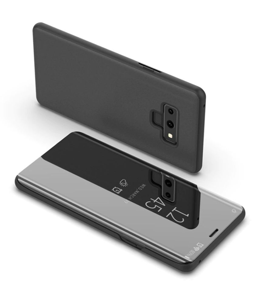 Samsung Galaxy S6 Edge Plus Flip Cover by SKYHOT - Black