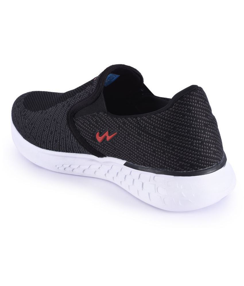 Campus WAVE-4 Black Running Shoes - Buy