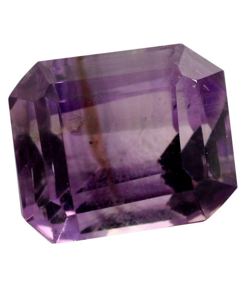 pitliya jewellers 8 -Ratti Self certified Purple Amethyst Semi-precious Gemstone