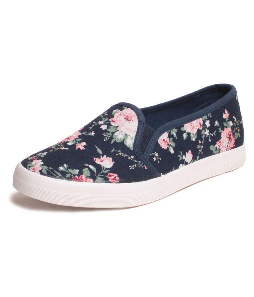 Klaur Melbourne Blue Casual Shoes