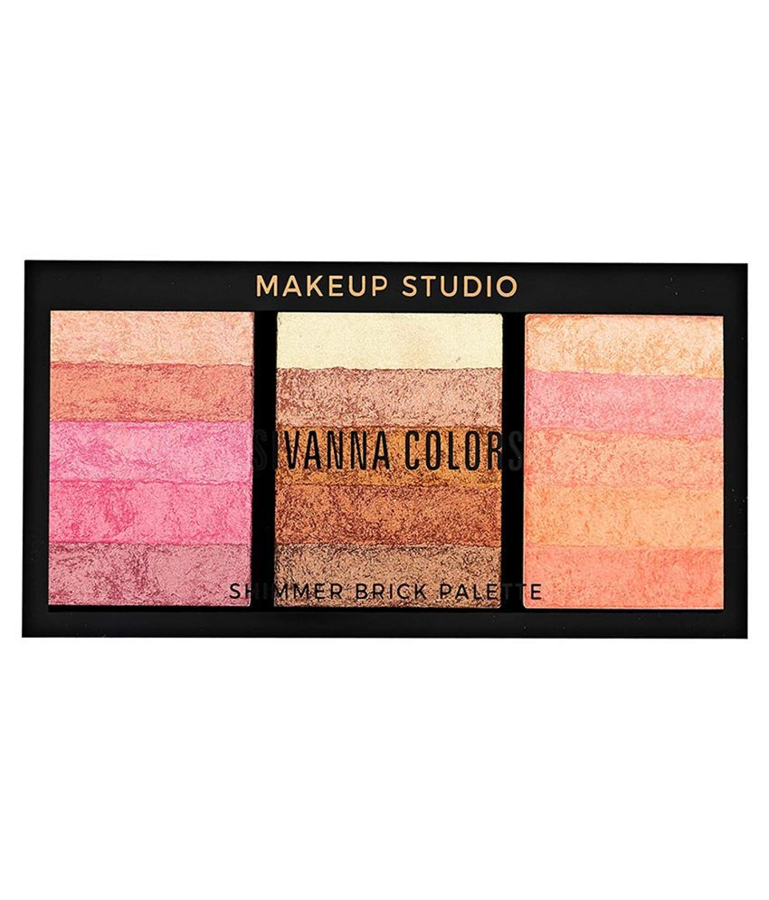 sivanna colors makeup studio shimmer brick palette
