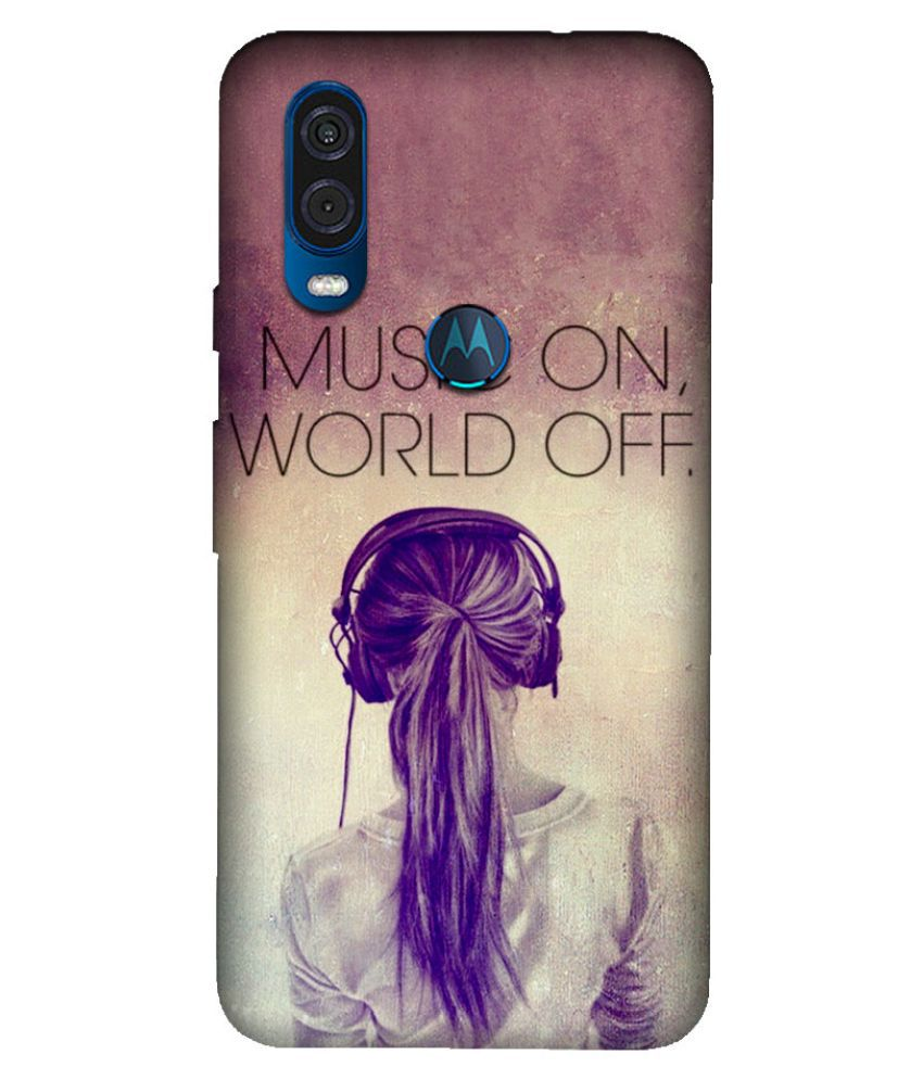 Motorola One Vision Printed Cover By Emble