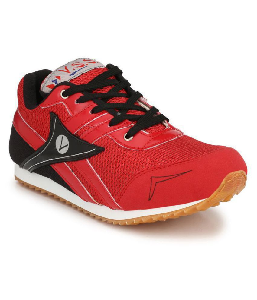 VSS Red Training Shoes