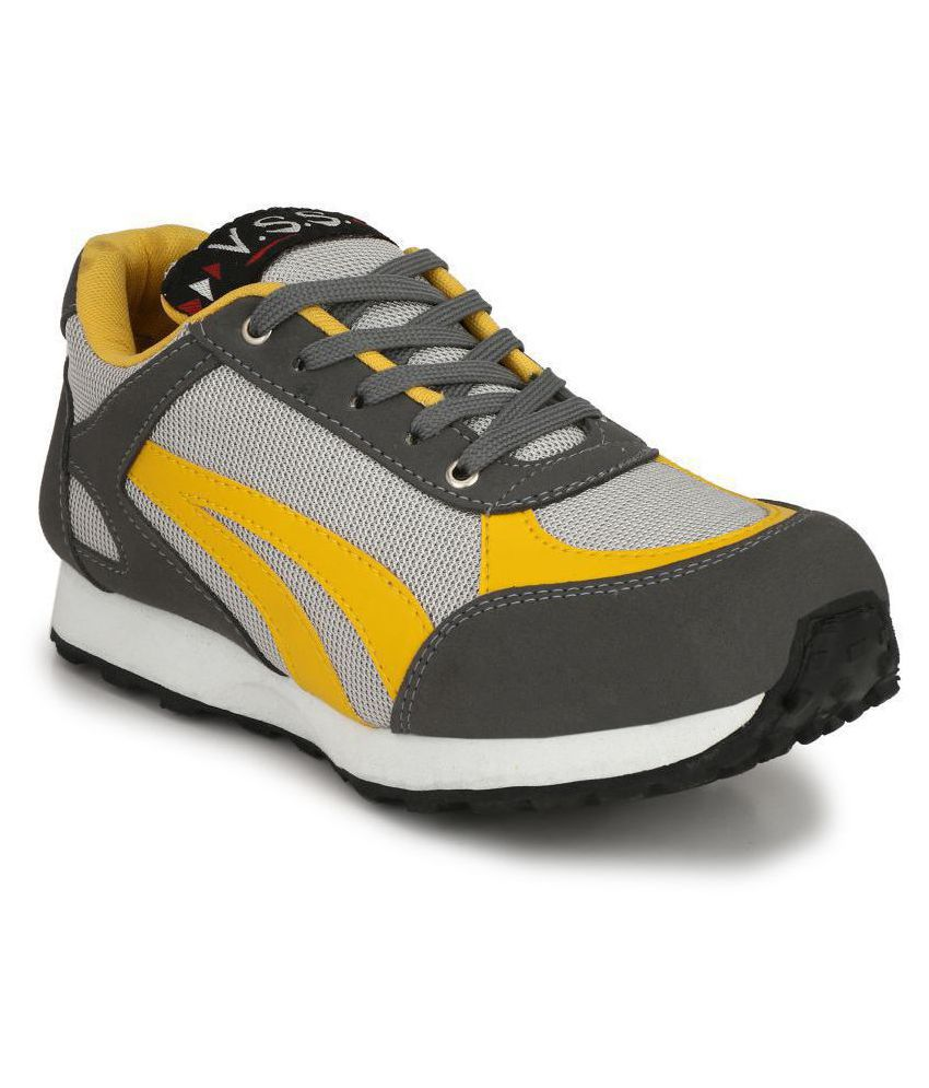 VSS Yellow Training Shoes