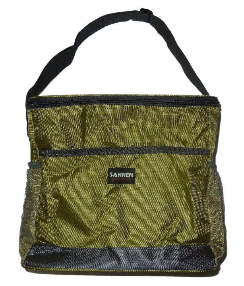 Decorika Light Green Cooler Bag 8