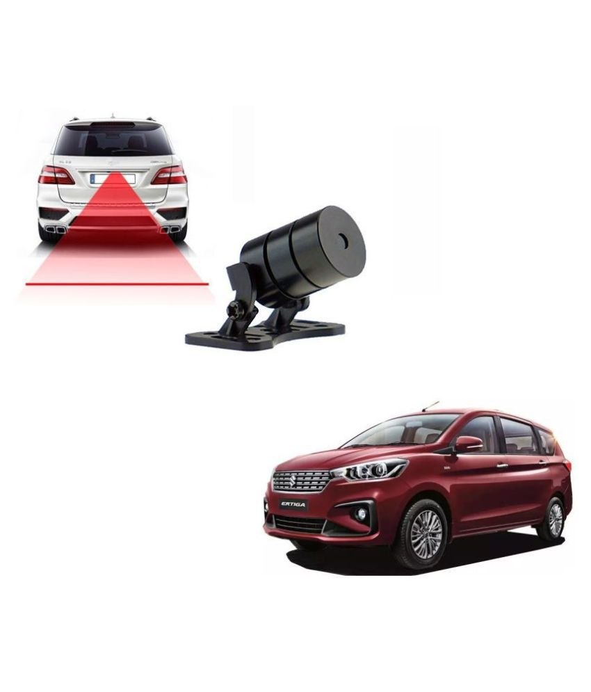 Auto Addict Car Styling Anti Collision Safety Line Led Laser Fog Lamp,Brake Lamp,Running Tail Light-12V Cars For Maruti Suzuki Ertiga New 2019