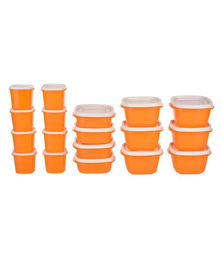 Cutting Edge SnapTight Container Polyproplene Food Container Set of 18 6940 mL