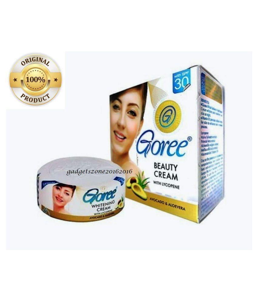 Queue Goree Anti Ageing Spots Pimples  Removing Whitening Cream Night Cream 30 gm