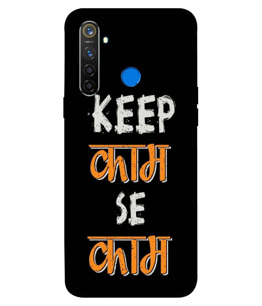 Realme 5 Pro Printed Cover By Ashvah