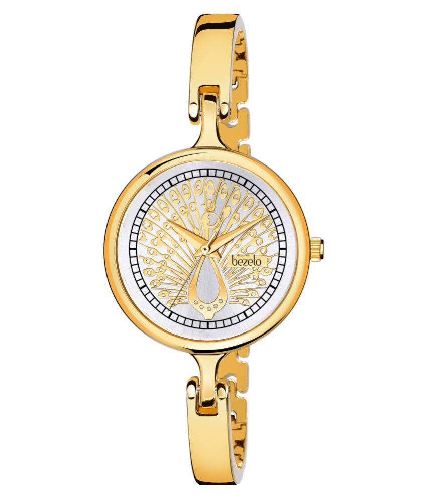 BEZELO Brass Round Womens Watch