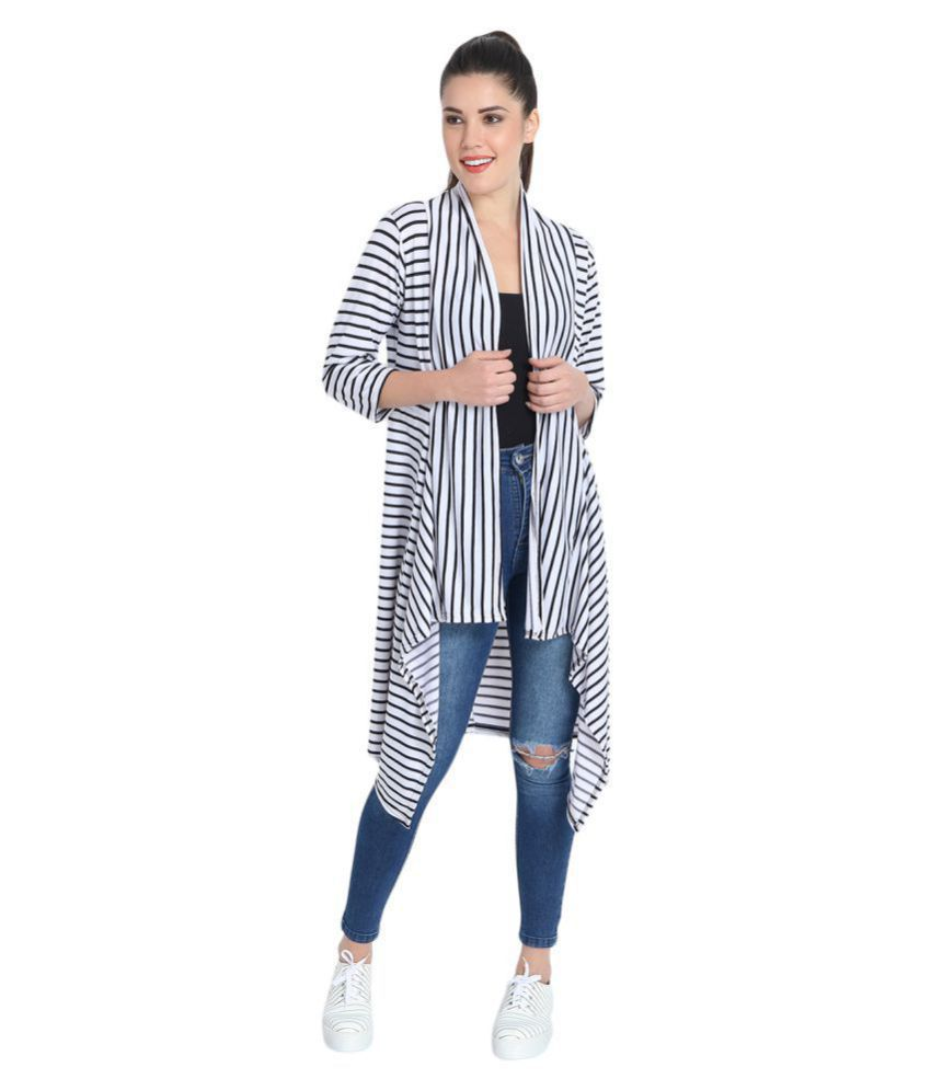 Dimpy Garments BuyNewTrend Cotton Lycra Shrug With Top For Women