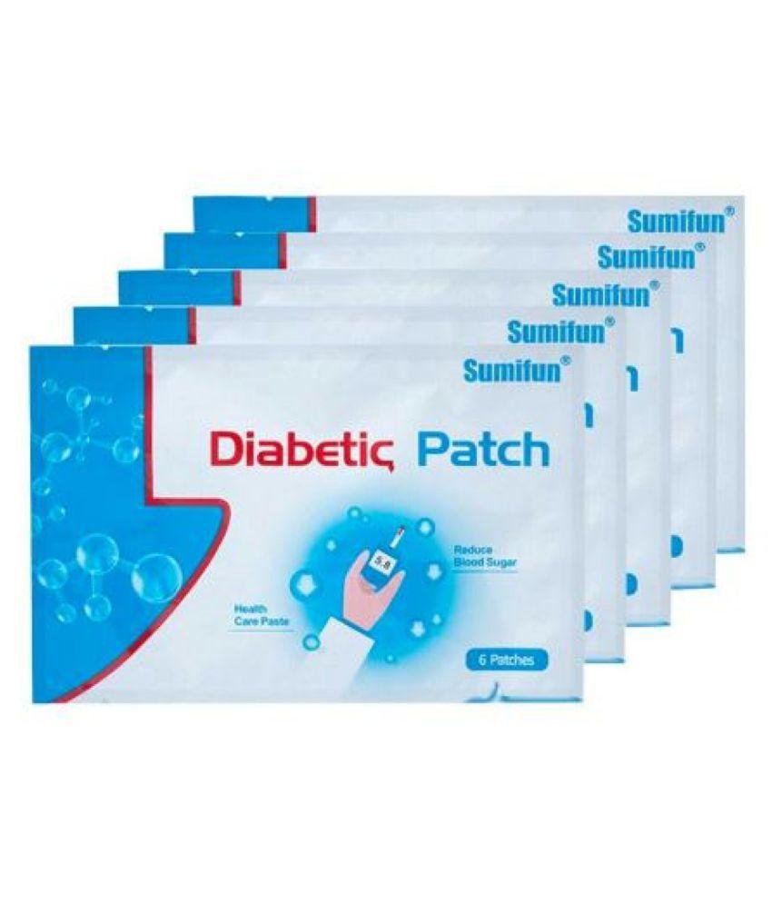 sumifun 6pcs Diabetes Patch sugar level control