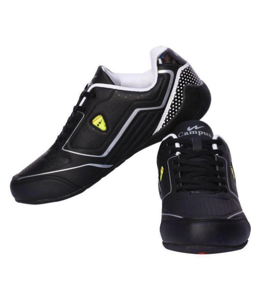 Campus FLASH Black Running Shoes - Buy