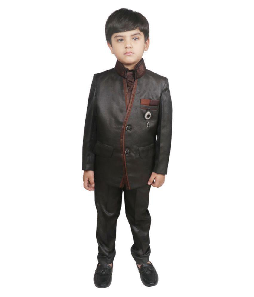 SG YUVRAJ Coat Pant set For Boys