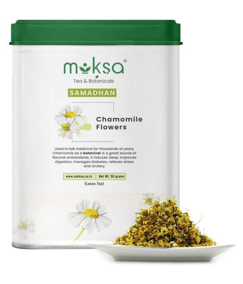 Moksa Chamomile Tea Loose Leaf 50 gm