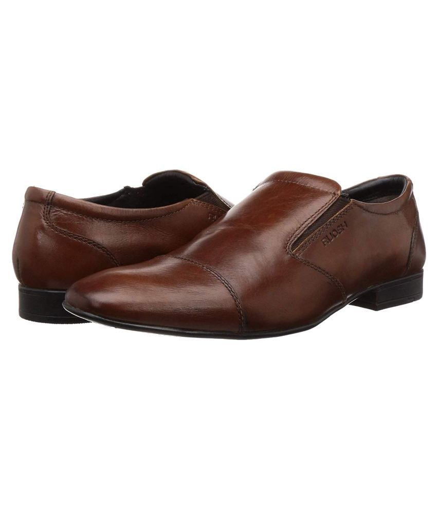 Ruosh Tan Formal Shoes