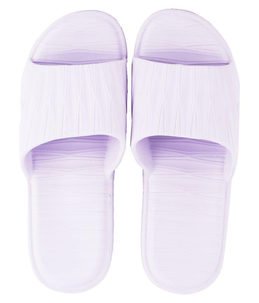 DRUNKEN Purple Bathroom slipper