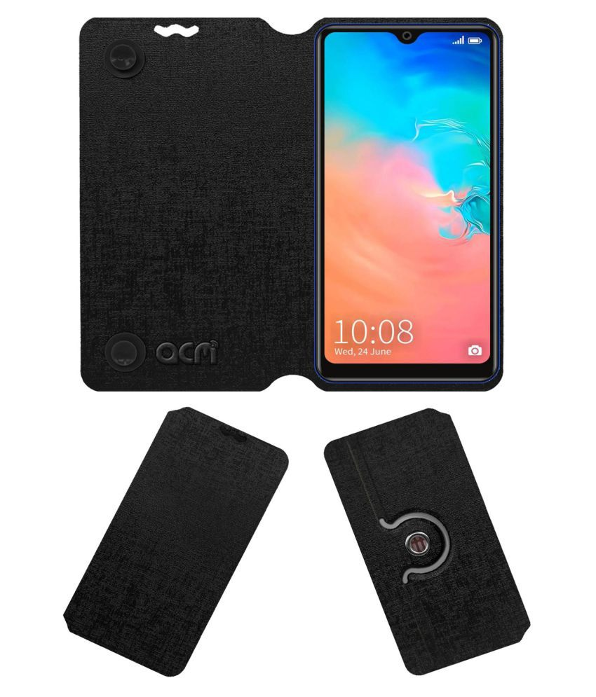 SSKY X2 Pro Flip Cover by ACM - Black Dual Side Stand