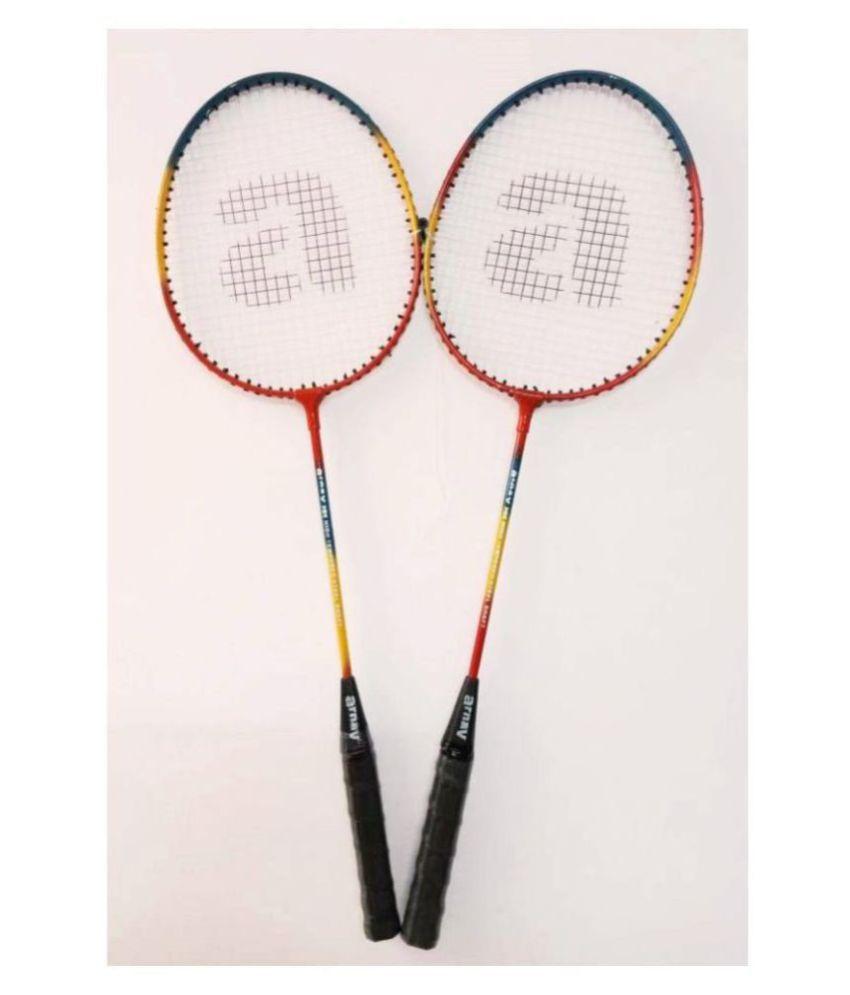 Arnav Practice Multicolour Badminton Raquet Assorted