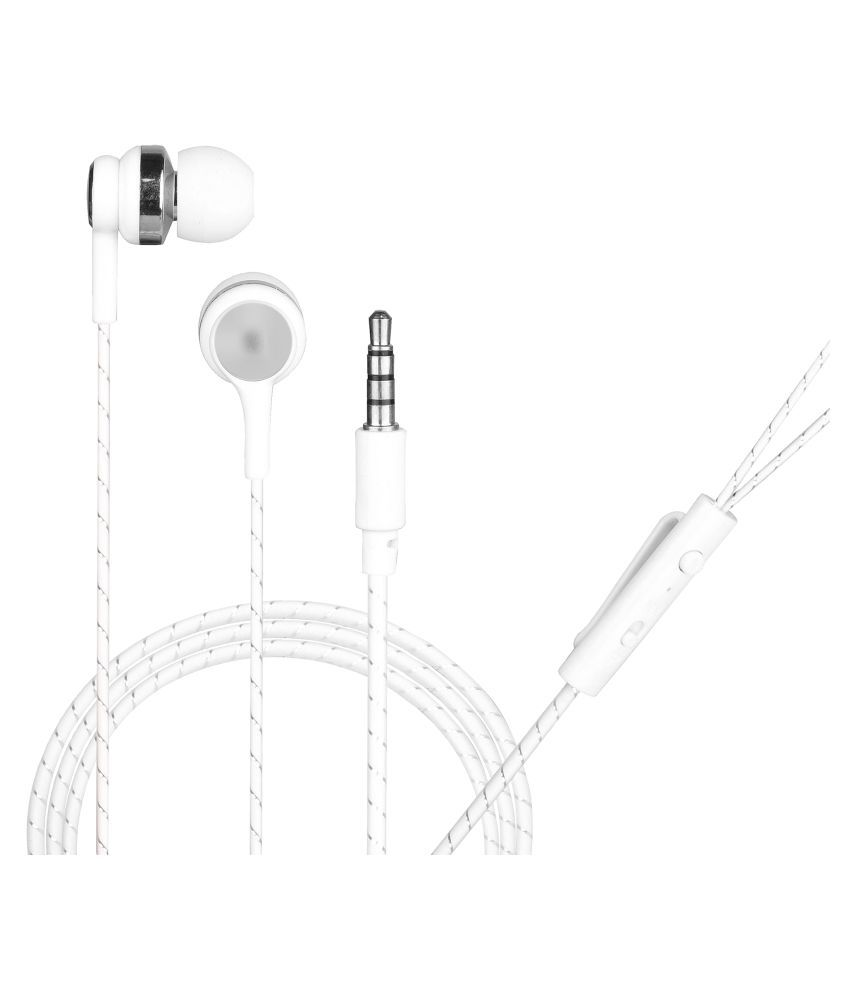 hitage Classic Color Melody In Ear Wired With Mic Headphones/Earphones