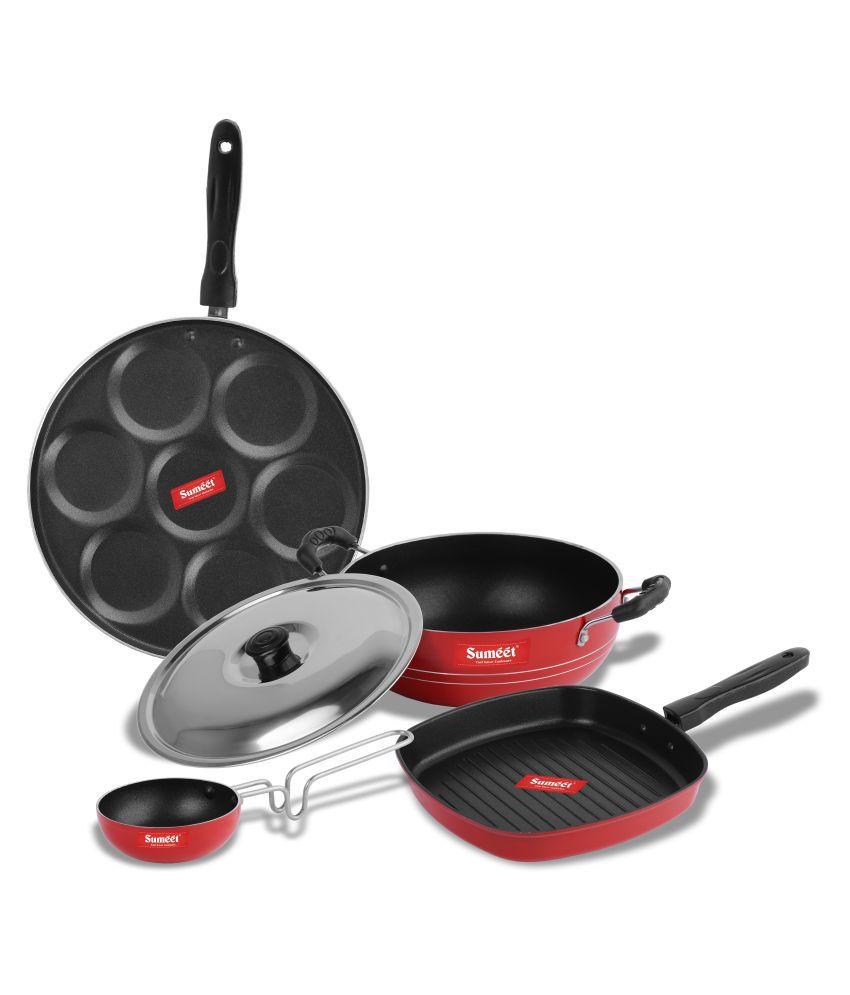 Sumeet Roux Nonstick 5 Piece Cookware Set