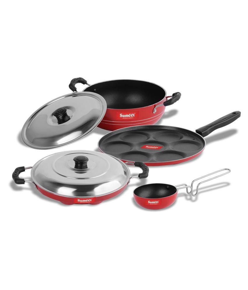 Sumeet UlaanNonstick 6 Piece Cookware Set