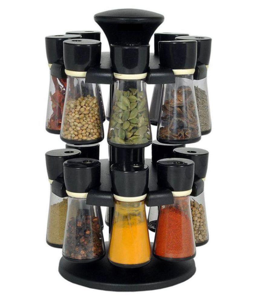 skylake 16 Jar Polyproplene Spice Container Set of 16 150 mL