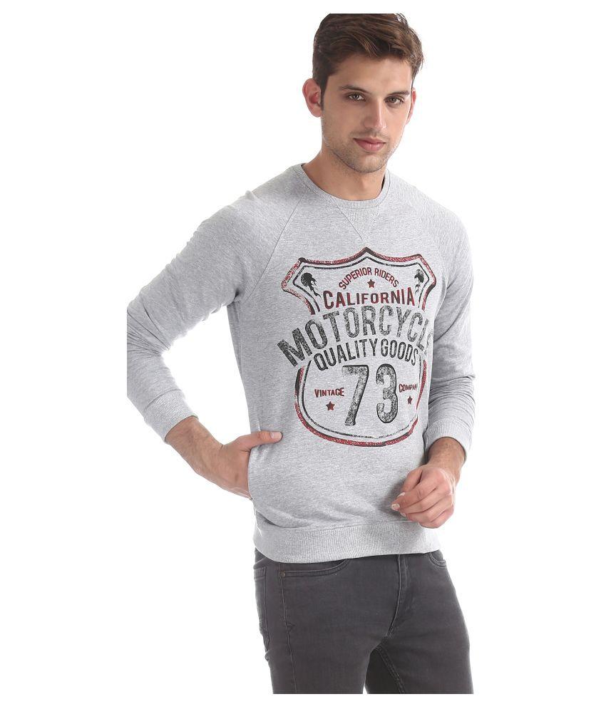 Cherokee Grey Round Sweatshirt