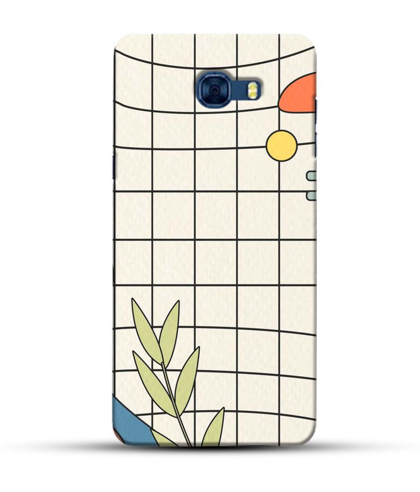 Samsung Galaxy C7 Pro Printed Cover By PIKKME