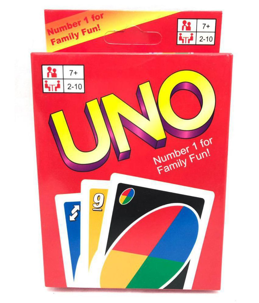 Mubco™ UNO Card Game | 2 Pack of Cards | Multi-Colors