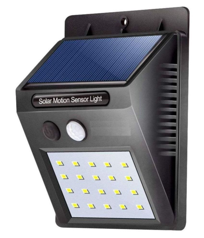 VYOMAN 4W Solar Outdoor Wall Light - Pack of 1