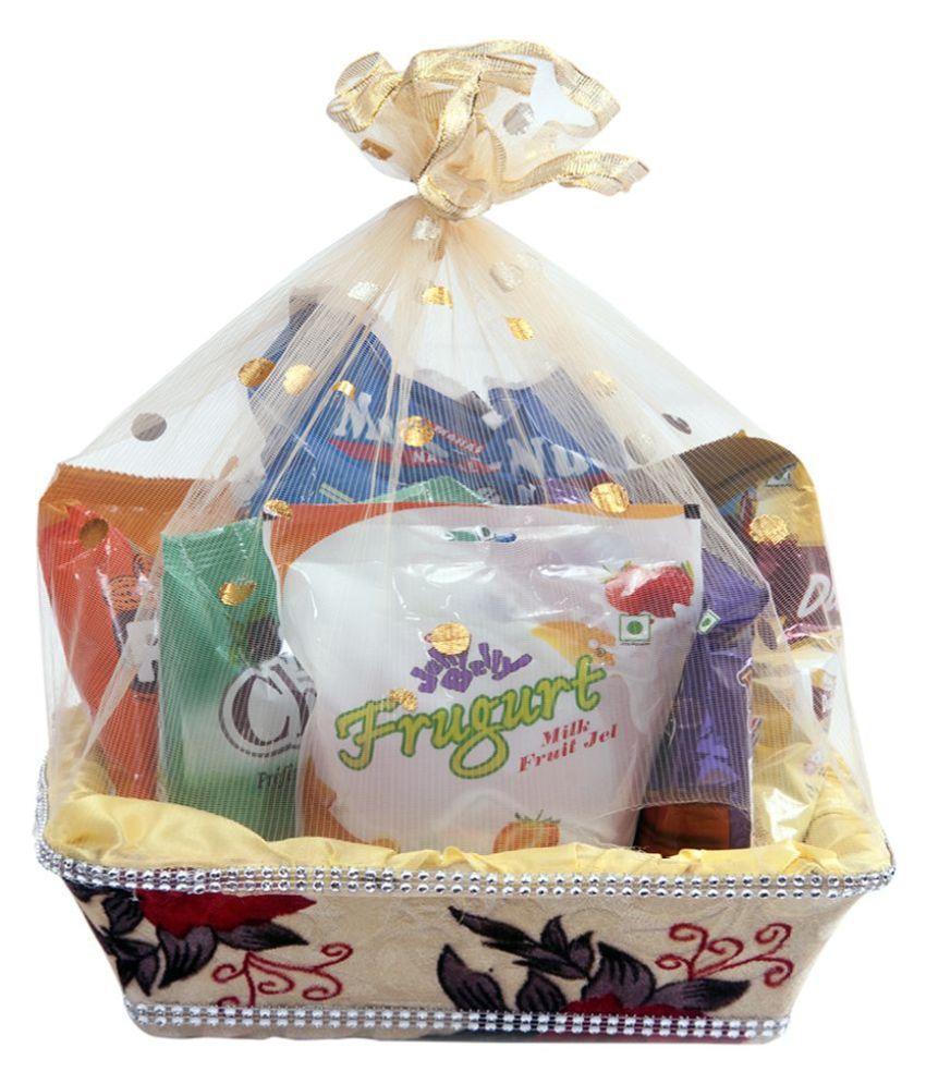 Mahak Candy Basket Gift combo pack ,new year,christmas 500 gm