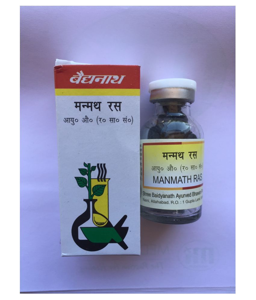 Baidyanath MANMATH RAS Tablet 40 no.s Pack Of 2