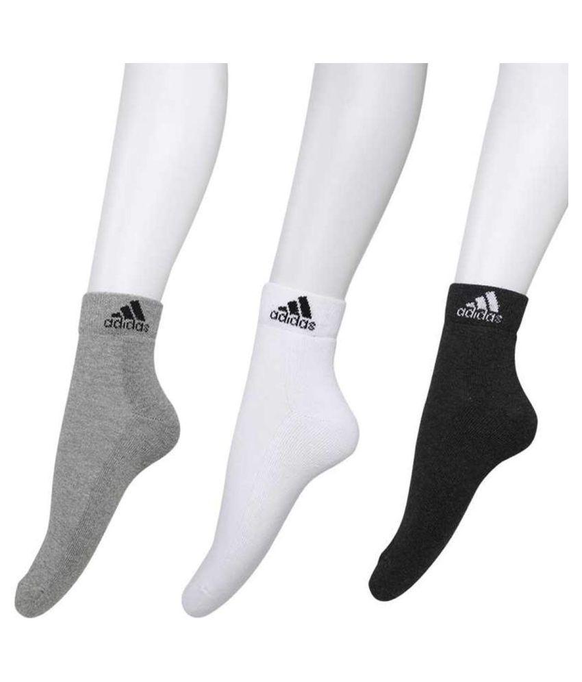 youshee Multi Ankle Length Socks Pack of 3