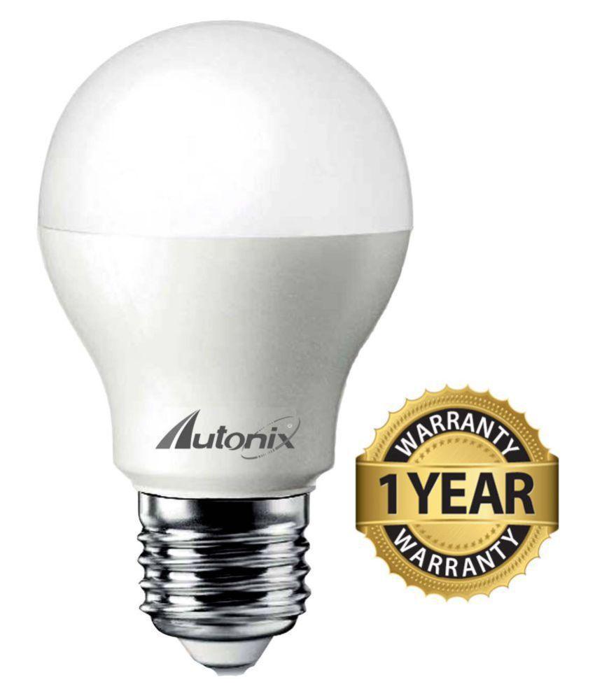 Autonix LED Lights 7W LED Bulb Cool Day Light   Pack of 1