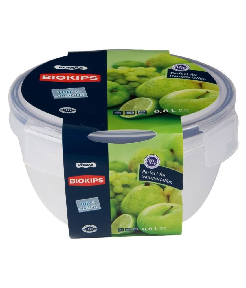 Komax Polyproplene Food Container Set of 1 800 mL