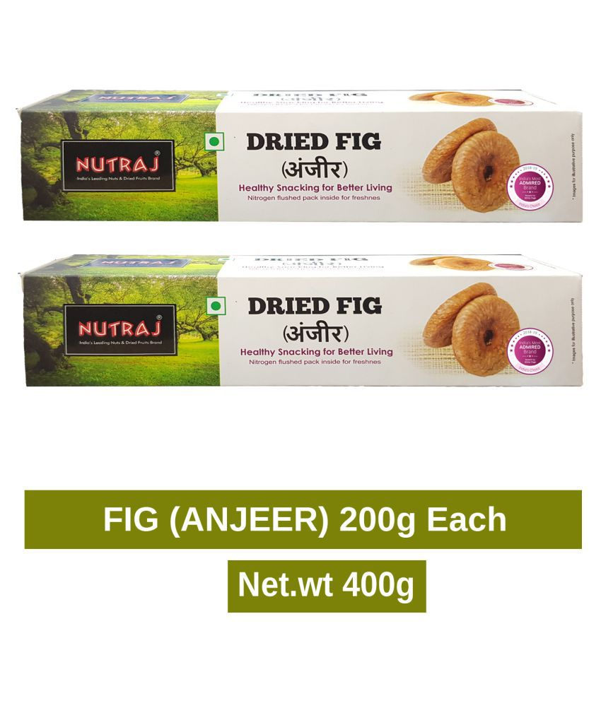 Nutraj Dried Fig (Anjeer) 400g (200g X 2)